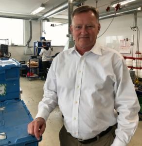 Adm. direktør fra Mikkelsen Electronics, Kim Christiansen