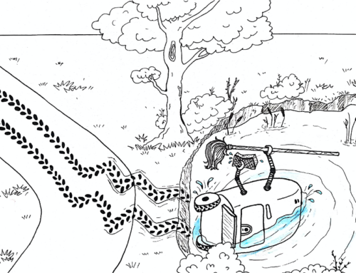 Will your cleaning robot end up in the pond?